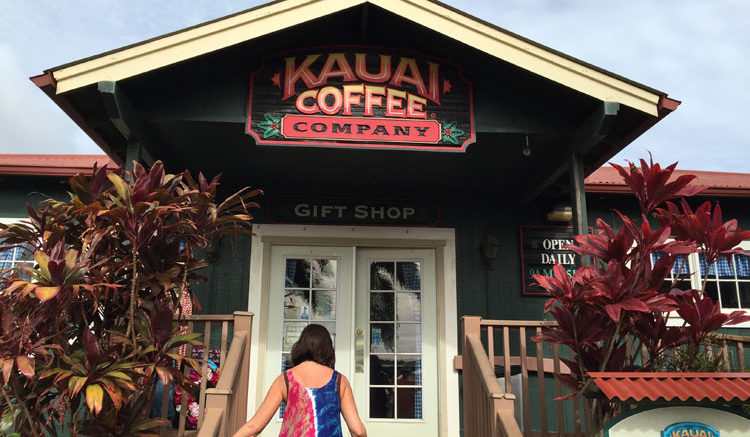 entrance to Kauai Coffee